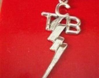 Elvis Presley JEWELRY TCB silver Sterling pendant new