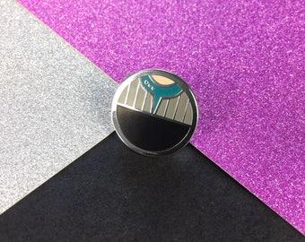 Symbiosis Enamel Pin Badge
