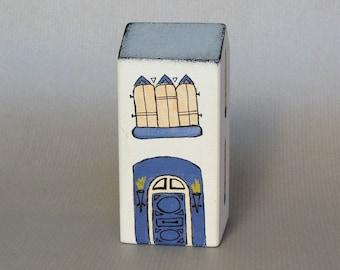 Indigo House - Handmade wood decoration