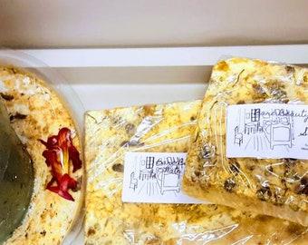 Sleep Soap // Insomnia // Dreamland // Sulfate Free // FREE exfoliating soap bag w/ purchase // Solar Plexus Chakra Nourishment