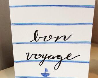 Bon Voyage Nautical
