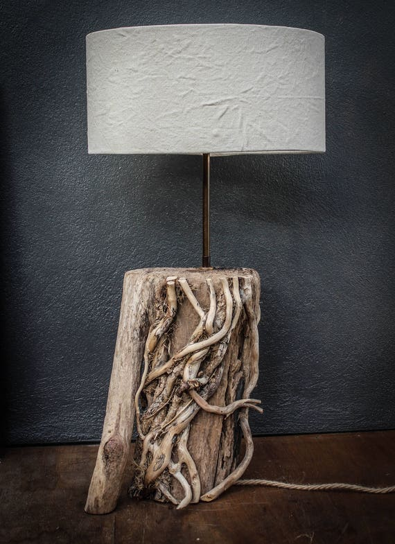 Driftwood Lamp Drift Wood Table Lampdriftwood Table Lamp