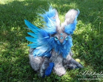 PREORDER: Faerie Bunny Poseable Art Doll