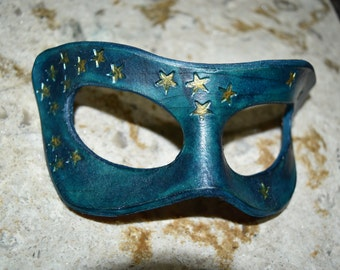 Leather star mask - pictured one available now