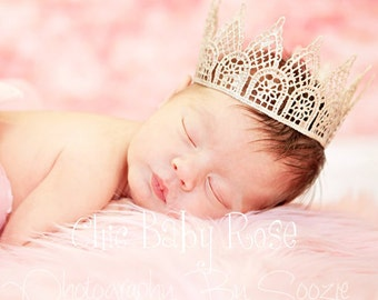 Princess Crown for Birthdays and Photo Props by Chic Baby Rose