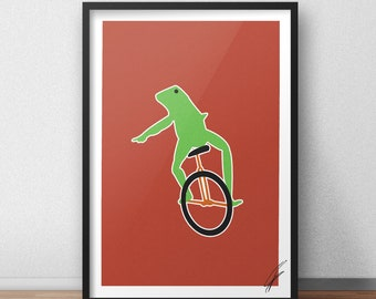 Here come dat boi Print