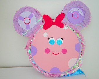 Toodles Pinata, Quoodles Pinata, Minnie Mouse Pinata, Minnie Mouse Birthday, Minnie Birthday, Mickey Birthday, First Birthday