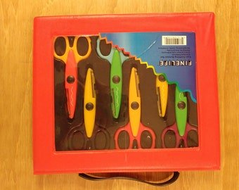 FineLife 6 Piece Crafting Scissor Set