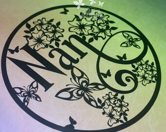 Nan Paper Cutting Template **Commercial Use**
