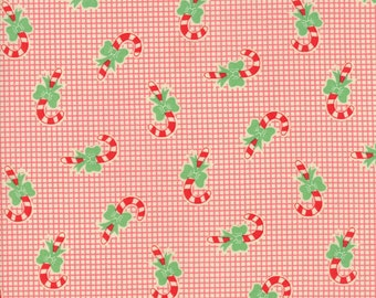 Swell Christmas - Candy Cane Red by Urban Chiks for Moda, 1/2 yard, 31124 12
