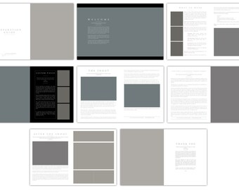 Preparation Guide for Glamour Photography - Template