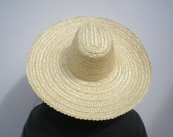 Straw hat-Portuguese traditional hat- unisex hat