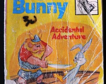 vintage childrens book... BUGS BUNNY Accidental Adventure  soft paperback BOOK ...