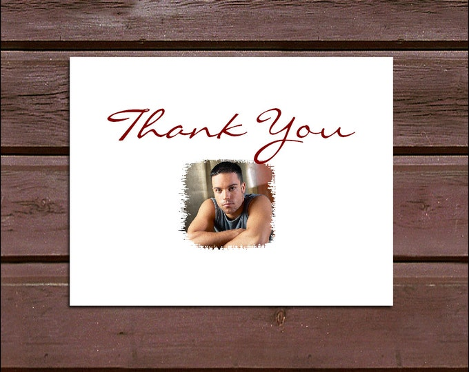 50 Graduation Thank You Notes. Price includes printing.