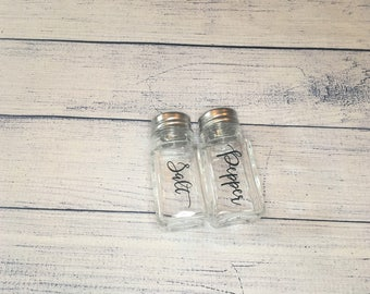 Personalized Salt & Pepper Shaker Set