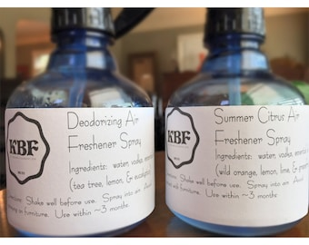 Deodorizing Air Freshener Spray