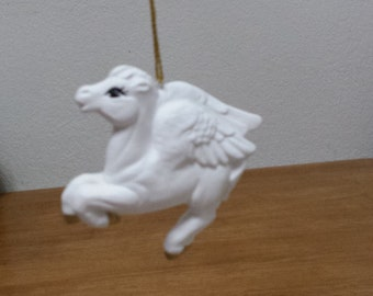 Ceramic Pegasus Ornament (#514)