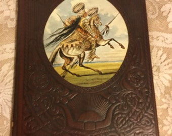 Vintage Time Life Books, 1977,  THE GREAT CHIEFS The Old West,  Historical Indain Accounts, Padded Leatherette Cover Book