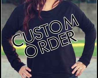 Terry Long Sleeve Scoop Neck Custom Shirt Order, Black Longsleeve, White Longsleeve, Lite Heather Gray Longsleeve