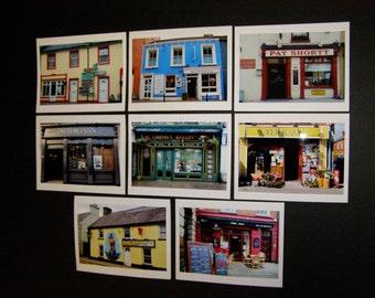 Shops of Ireland 8 Notecards