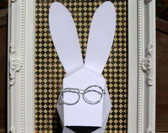 Trophy rabbit frame
