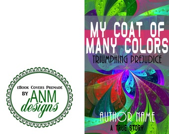 Premade eBook Cover Design 'My Coat of Many Colors' Non-Fiction Book Cover
