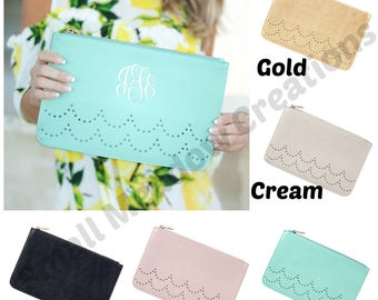 Monogrammed Clutch, Monogram Clutch, Monogram Purse, Monogrammed Purse, Personalized Clutch, Bridesmaids Gifts, Personalized Purse, Leather