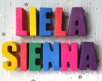 Personalised Chunky Name Crayons