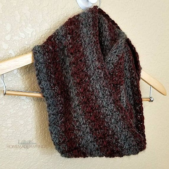 Infinity Scarf Crochet Pattern Scarf Pattern Easy Crochet