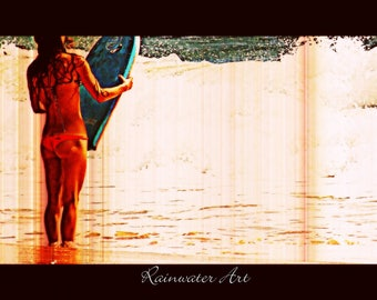 Boogie Beach Babe By C Rainwater