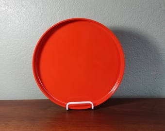 One Orange Heller Stackable Dinner Plate