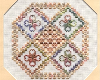 Seasons - hardanger pattern