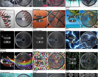 Choose Any 1 Vinyl Skin/Sticker/Decal Design for DJ Hero Turntable (Nintendo Wii)