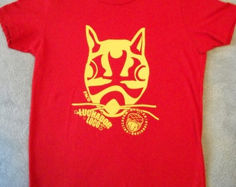 Mexican Wrestling Squirrels Paco T-shirt (kids size 12)