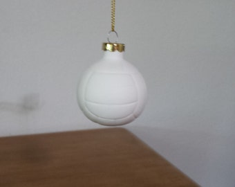 Ceramic Volley Ball Ornament (#506)