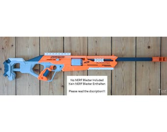 Nerf Accustrike Alphahawk Sniper SET for LARP and Cosplay