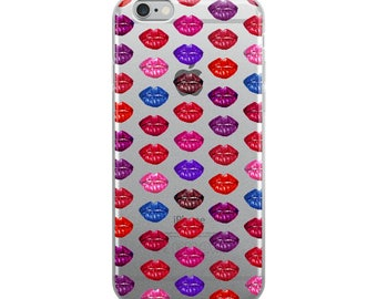 Lots of Kisses iPhone Case