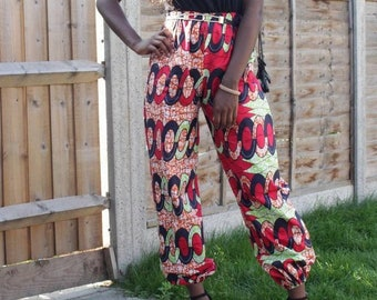 Ankara African Print Joggers Bottom Trousers