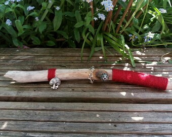 Witchcraft / Wiccan Wand, Wooden Athame, Circle Caster