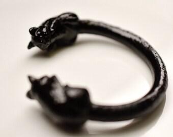Order production cat bangle Nyambambangle Black