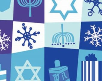 Hanukkah Traditions Gift Wrap, Environmentally Friendly, 100% Recycled Wrapping Paper