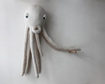 Big Albino Octopus