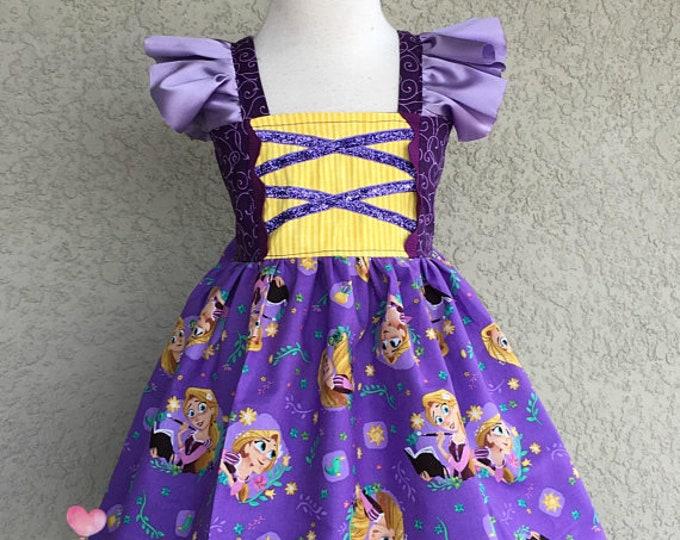Rapunzel Paper Lantern Hattie Princess Dress