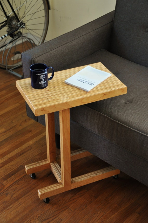 Plywood Console Table ~ Handmade plywood side table