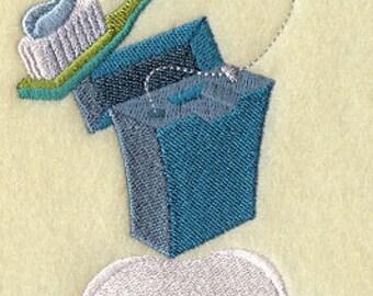 Sparkling Smile Dentist Stack Embroidered Flour Sack Hand/Dish Towel
