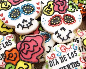 Dia De Los Muertos ( Day Of the dead Cookies) - 1 Dozen
