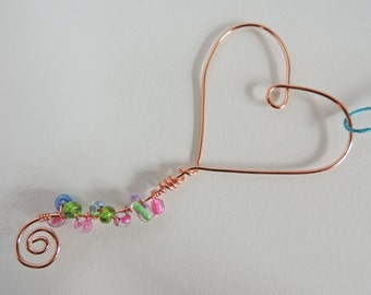 Magic Bubble Wand, Beaded Magic Wand, Wedding Party Gift, Wire Beaded Wand, Heart Wand, Circle Wand