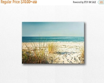 ON SALE canvas print canvas photo beach print beach photo 12x12 24x36 fine art photography canvas wall art canvas art large ocean photograph