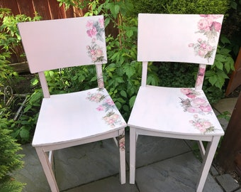 MISTYMORNING  pair of vintage chairs