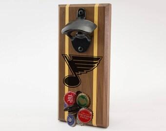 St. Louis Blues Magnetic Bottle Opener